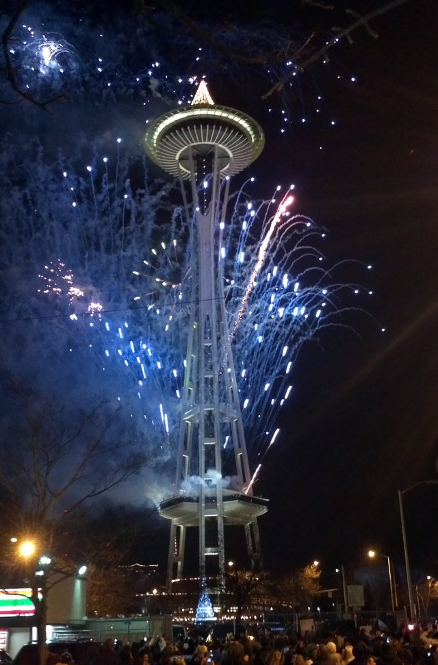 Seattle Space Needle NYE