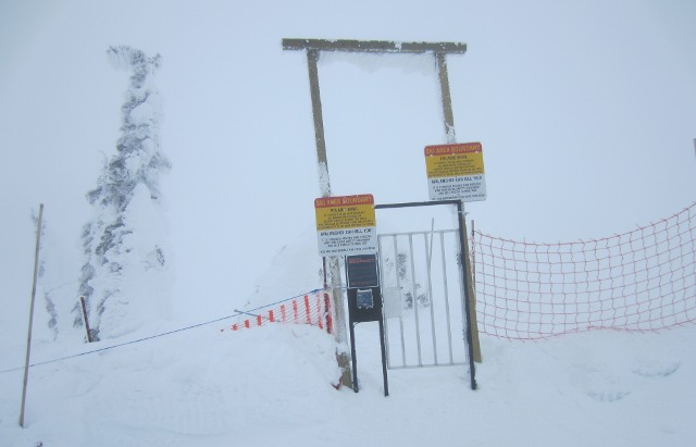 Backcountry gate