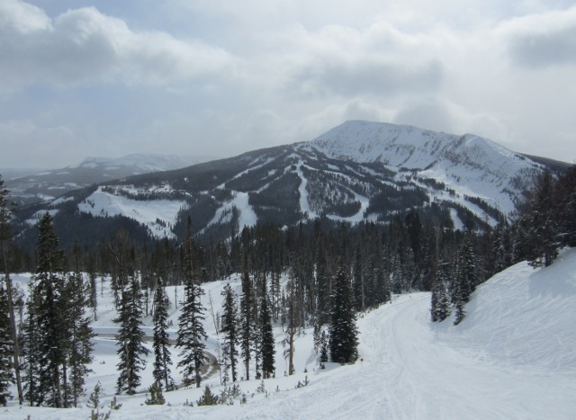 Right next to Big Ski is the Yellowstone Club, a decidedly high end private ski resort.